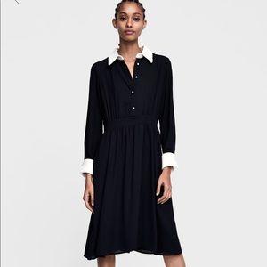 NWT Zara Contrasting Dress